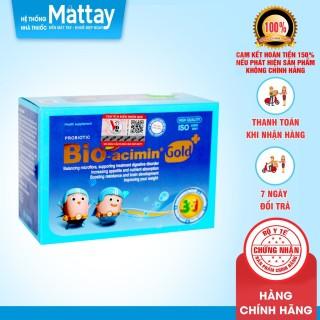 Bio Acemin Gold - Hộp 30 Gói - Cân Bằng Hệ Vi Sinh Đường Ruột, Giúp Ăn Ngon thumbnail