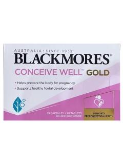 Blackmores Well Gold Bổ Trứng, Tăng Khả Năng Thụ Thai VIÊN UỐNG TĂNG KHẢ NĂNG THỤ THAI BLACKMORE CONCEIVE WELL GOLD thumbnail
