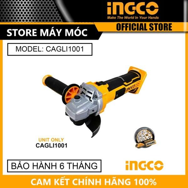 [HCM]Máy mài góc dùng pin 20V 100mm Ingco CAGLI1001 - HÀNG CHÍNH HÃNG
