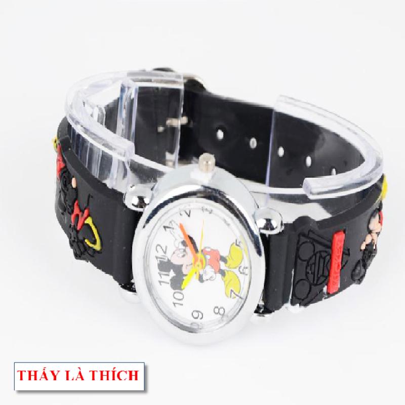Nơi bán Đồng hồ bé trai họa tiết 3d Chuột Mickey - DH2019100015020039