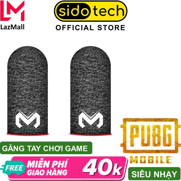 Găng tay chơi game điện thoại SIDOTECH GT1 sợi carbon cảm ứng nhạy , chống mồ hôi co dãn siêu bền dành cho game PUBG FF Tốc Chiến Liên Quân mobile bao tay choi game cao cấp