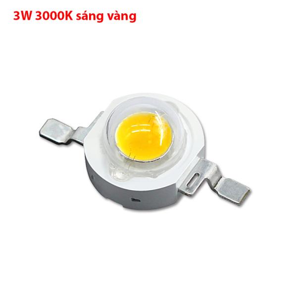 Bóng đèn LED COB 3W 5W - mắt LED - tặng kèm đế NHÔM tản nhiệt