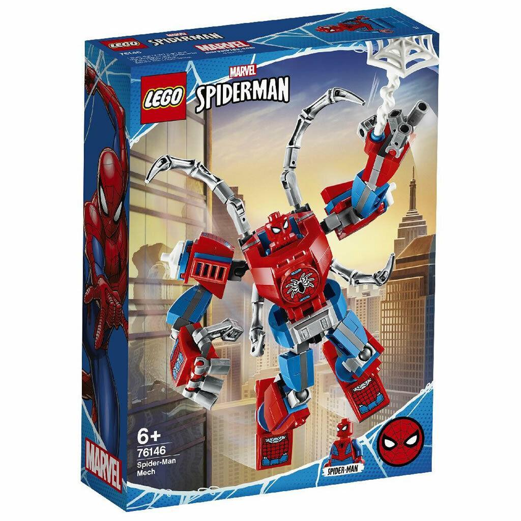 Giá Tiết Kiệm Khi Sở Hữu Bộ Lắp Ráp Chiến Giáp Người Nhện - LEGO Marvel 76146 (152 Chi Tiết)