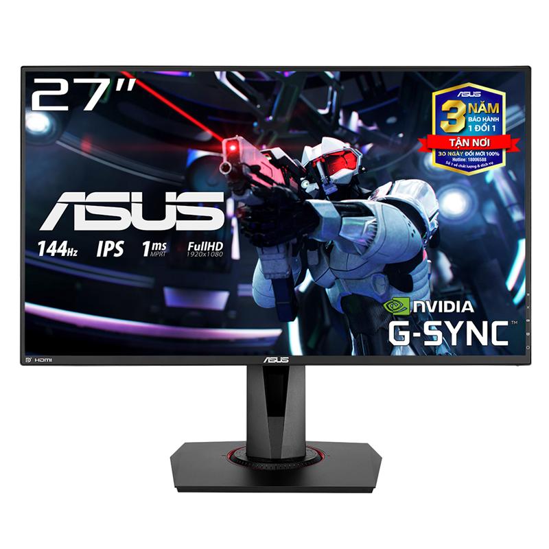 Màn Hình Game ASUS VG279Q 27 inch IPS 144Hz 1ms MPRT Full HD 2 Loa FreeSync - Hàng Chính Hãng