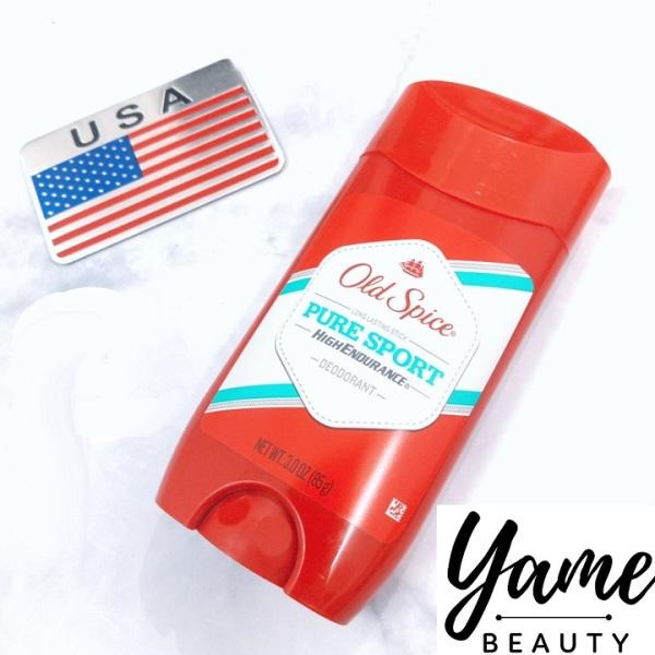 Lăn sáp khử mùi nam Old Spice Pure Sport đỏ 85g hương tươi mát- Mỹ