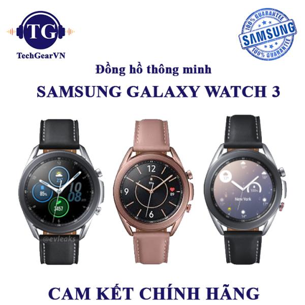 [Galaxy Watch 3] Đồng hồ thông minh Samsung Galaxy Watch 3