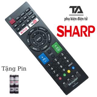 [FREESHIP 50K] REMOTE ĐIỀU KHIỂN TIVI SHARP SMART - CHÍNH HÃNG thumbnail