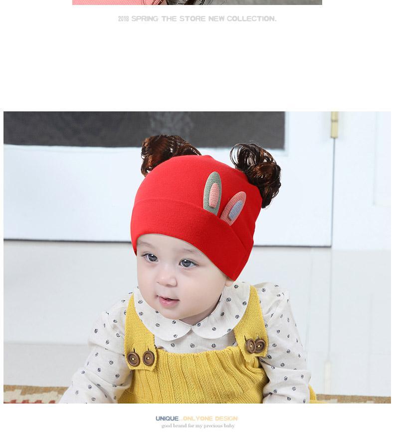Giá bán Mũ tóc giả tai thỏ nhỏ cho bé cute(1-36 tháng)