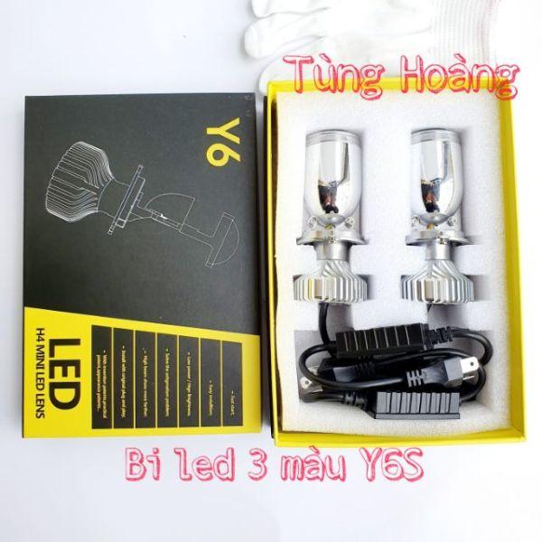 Đèn bi led mini H4 cao cấp 3 nhiệt màu Y6S, Y6D