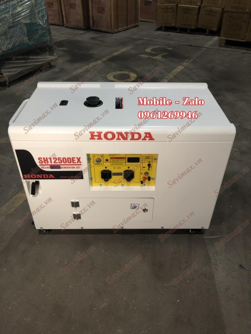 Máy phát điện xăng Honda SH12500EX (10kw, chống ồn)