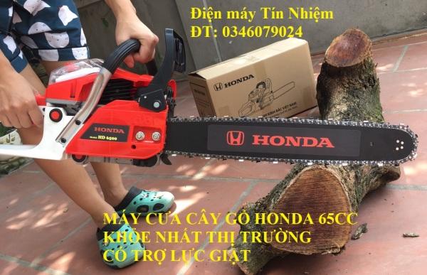 Máy cưa cây gỗ H O N D A 65CC khỏe nhất thị trường