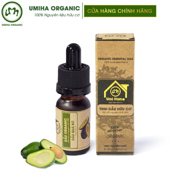 Dầu Quả Bơ hữu cơ UMIHOME nguyên chất - Dưỡng làm mềm da, cấp ẩm sâu tăng cường phục hồi da, giảm viêm và mụn, dưỡng tóc
