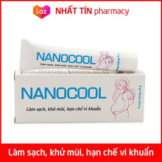 Kem dưỡng ẩm vùng kín phụ nữ NANOCOOL làm sạch, khử mùi, giảm viêm nhiễm nấm ngứa - Tuýp 20g thumbnail