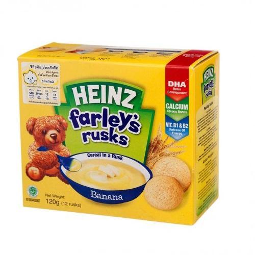 Bánh ăn dặm Heinz Farley's vị chuối cho trẻ từ...
