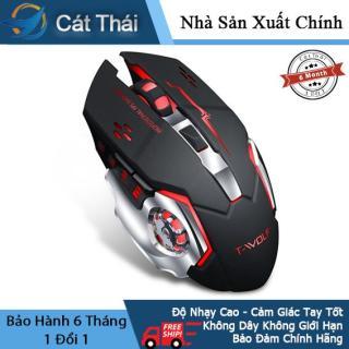 Chuột không dây Cát Thái chuột chơi game chuột cơ Lôi Lang Q13 7 sắc chuyển đổi đẹp mắt cảm giác tay tốt thumbnail