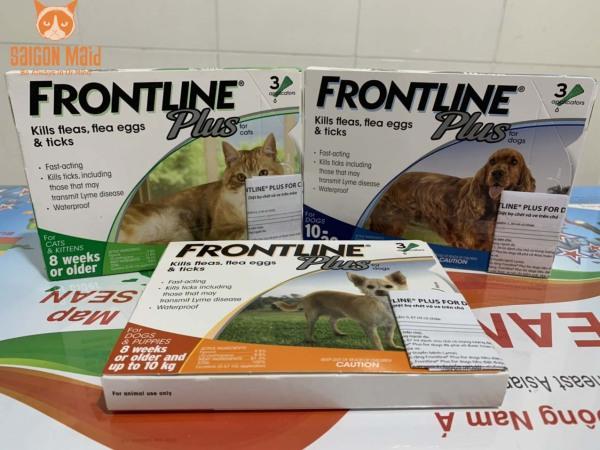 Sản phẩm nhỏ gáy dành cho mèo Frontline Plus Cat (1 tuýp)