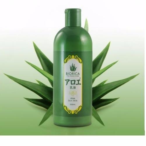 Nước hoa hồng chiết xuất lô hội Biorica Aloe Skin Lotion 500ml tốt nhất