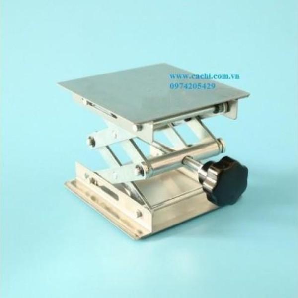 Bàn Nâng Bình Cầu Bằng Thép Không Gỉ 15X15Cm