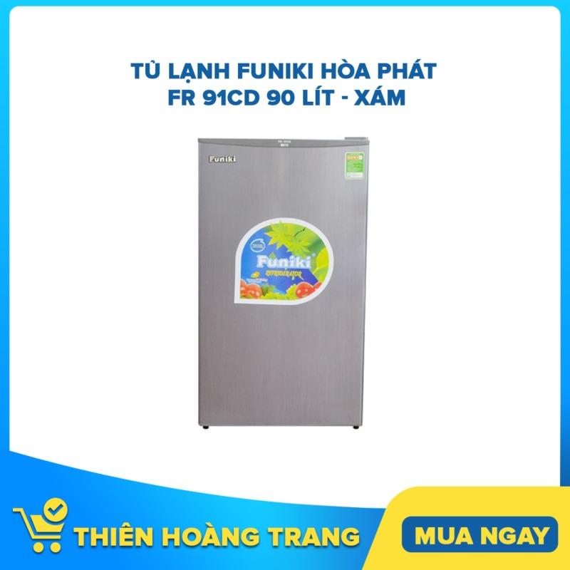 Tủ lạnh Funiki Hòa Phát FR 91CD 90 lít - xám