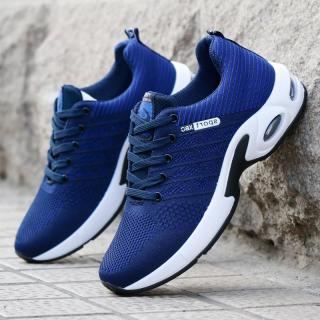 Giày Sneaker nam - Giày thể thao nam buộc dây - thể thao, chạy bộ, đi chơi - Giày vải, đế cao su cực bền G89 thumbnail