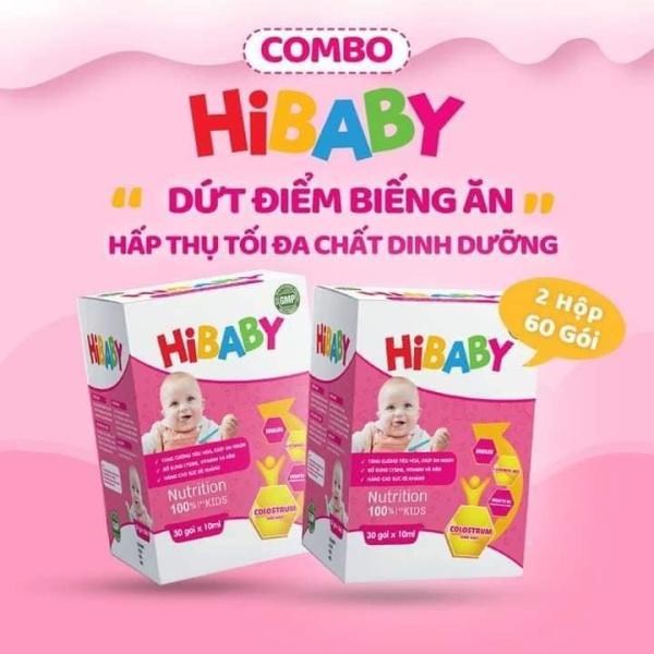 Siro ăn ngon  HIBABY – Chấm dứt tình trạng trẻ biếng ăn
