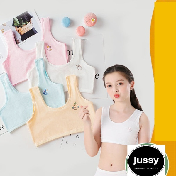 Giá bán Áo Lót Học Sinh Chất Vải Cotton Mềm Mịn Thoáng Mát Form Đẹp Free Size Dưới 50kg Nhiều Màu Vintage