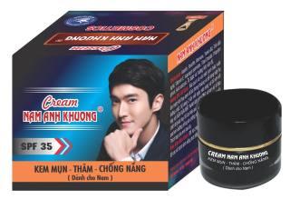 Kem xoá mụn dưỡng trắng da , thâm , liền sẹo chống nắng dành cho nam Nam Anh Khương thumbnail