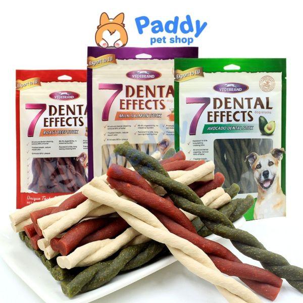 Xương Gặm 7 Dental Effects Sạch Răng Miệng Cho Chó
