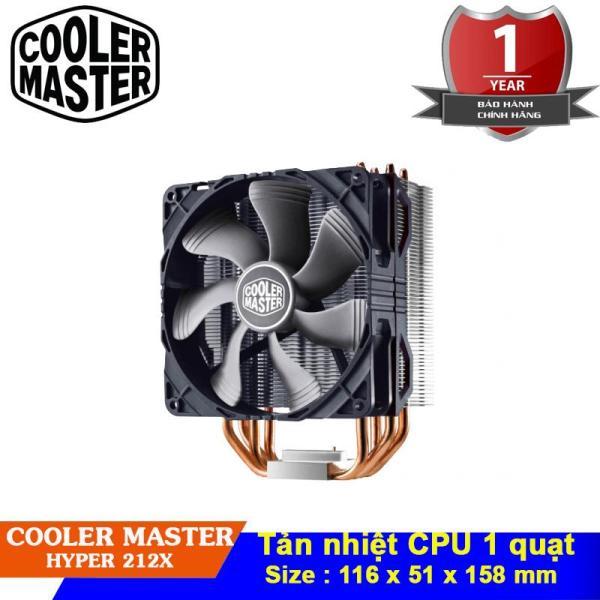 Bảng giá Quạt tản nhiệt CPU Cooler Master Hyper 212X - An Phú phân phối Phong Vũ