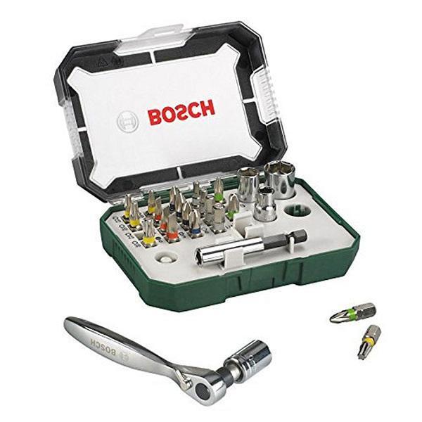 Bộ dụng cụ ốc vít 26 món Bosch 2607017322