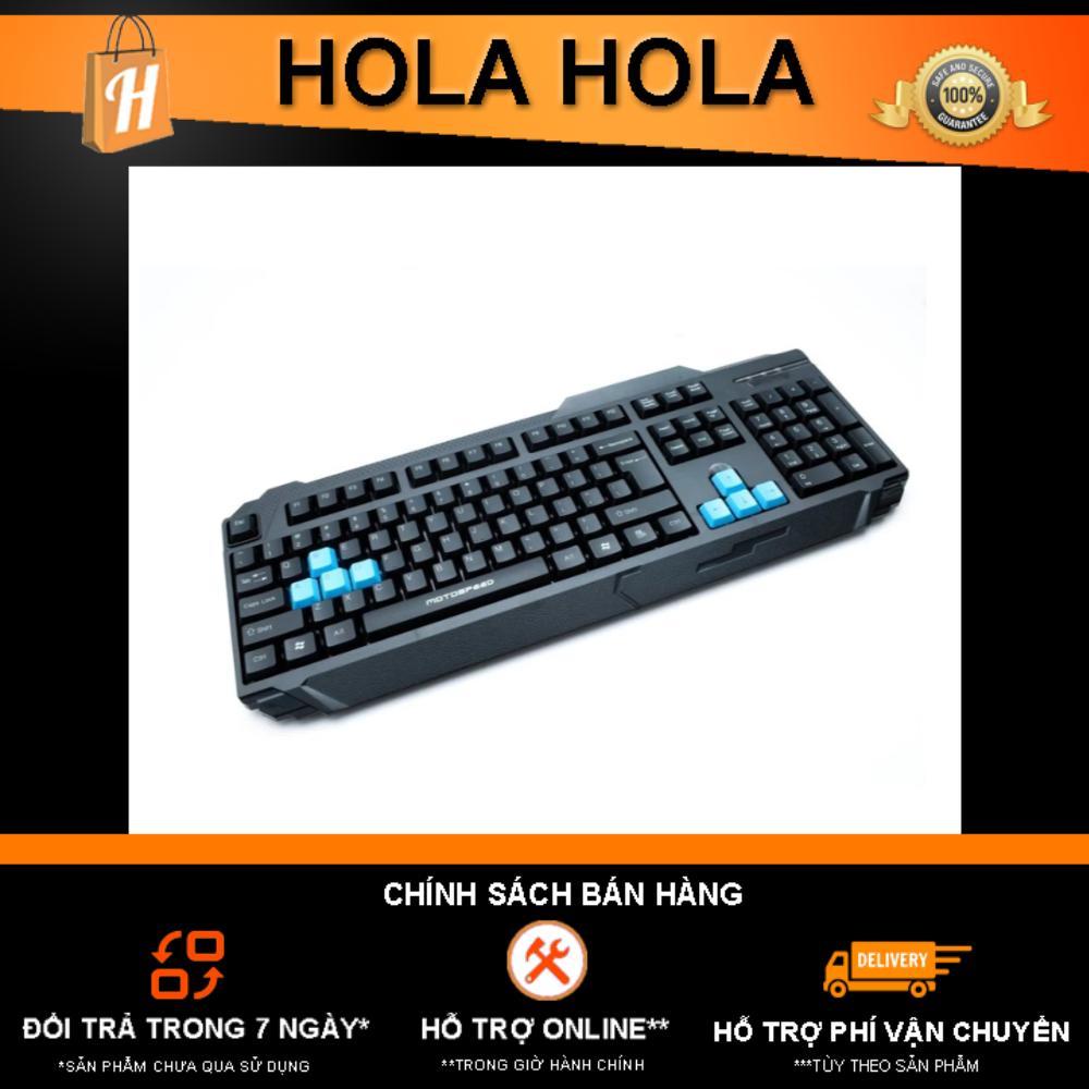 Bàn Phím Game Thủ Motospeed K51 Gaming Keyboard Duy Nhất Khuyến Mại Hôm Nay