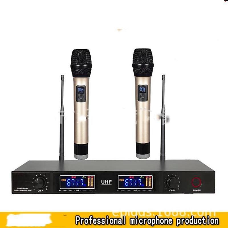 Bộ mic karaoke, bộ Mic không dây cao cấp kèm đầu thu cao cấp UG-99 (BY-8008)  BH bởi Click - Buy