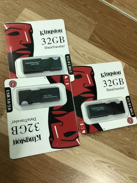 Bảng giá USB 3.0 32GB Kingston DT100G3 tốc độ upto 100MB/s Phong Vũ
