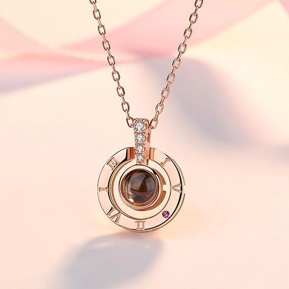 Dây Chuyền Nữ Titan HOT Trên Tiktok Mặt Hiển Thị Chữ I LOVE YOU Bằng 100 Thứ Tiếng Lưu Giữ Kỷ Niệm Tình Yêu Phong Cách Hàn Quốc TG-100 Khuyến Mãi Sốc