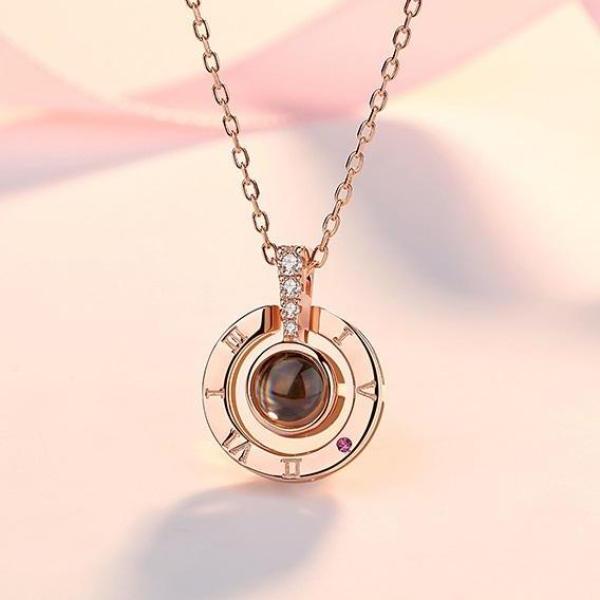 Dây Chuyền Nữ Titan HOT Trên Tiktok Mặt Hiển Thị Chữ I LOVE YOU Bằng 100 Thứ Tiếng Lưu Giữ Kỷ Niệm Tình Yêu Phong Cách Hàn Quốc TG-100