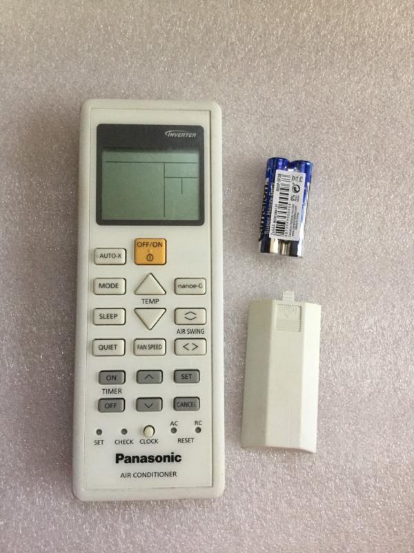 Bảng giá Điều Khiển Máy Lạnh Panasonic inveter Dài ( Hàng Zin Đã Qua Sử Dụng )