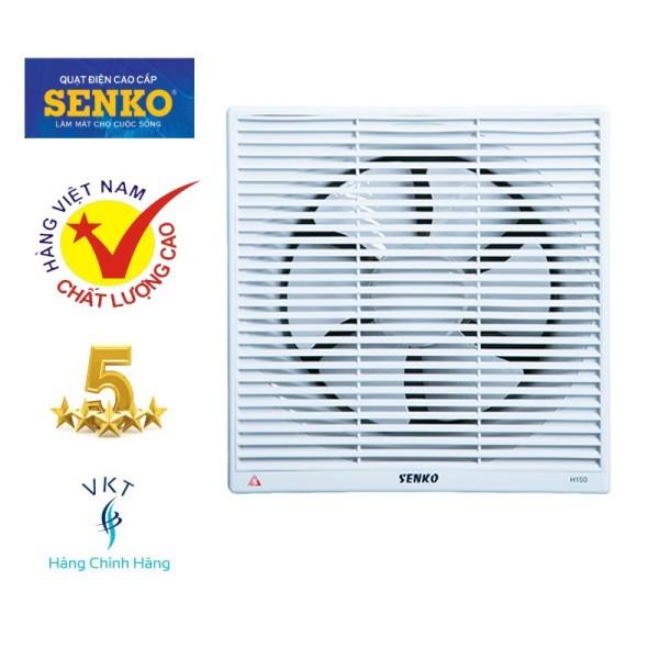Quạt Hút Thông Gió Senko H150 (30W) - Trắng - Hàng Chính Hãng
