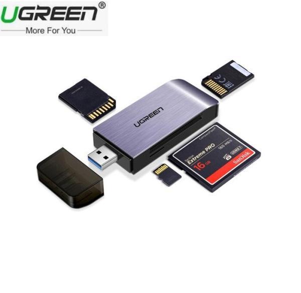 ĐẦU ĐỌC THẺ SD,TF, CF, MS CHUẨN USB 3.0 UGREEN 50541 - UGreen 50541