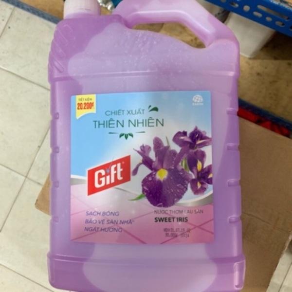 Lau sàn gift 3kg8 (Mẫu mới) màu tím