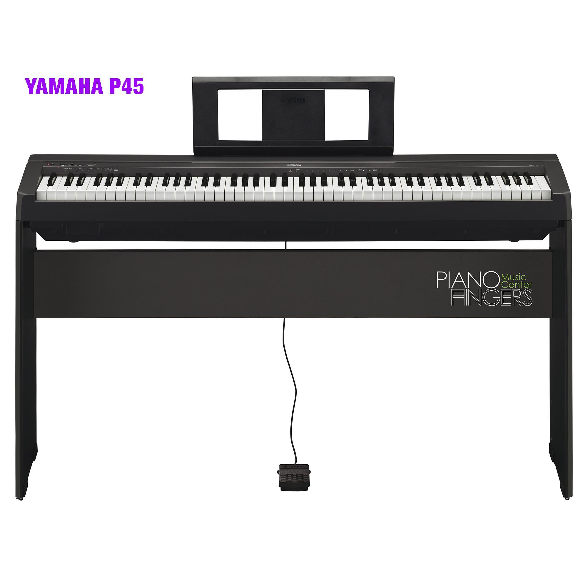 Digital piano Yamaha P45+L85 - Piano Fingers