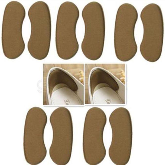 Set 5 đôi lót gót giày êm chân (màu nâu) giá rẻ