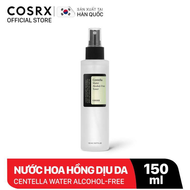 Nước hoa hồng chiết xuất rau má làm dịu da COSRX Centella Water Alcohol-Free Toner 150ml