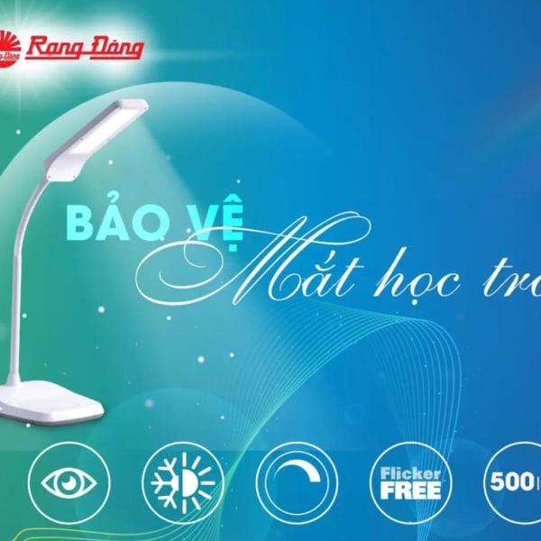 Đèn bàn học LED cảm ứng RẠNG ĐÔNG RD-RL-36.LED - chip LED Samsung có hiệu suất ánh sáng cao, ánh sáng không nhấp nháy bảo vệ thị lực cho các bé