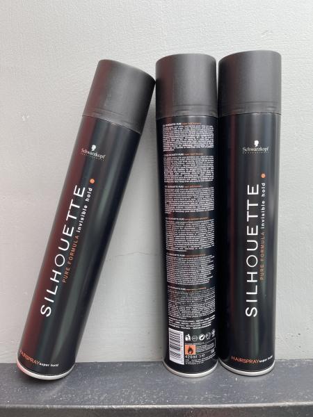 Keo xịt tóc SILHOUETTE (schwarzkopf) 420ml, giữ nếp tốt, không bết dính, không gây hại tóc giá rẻ