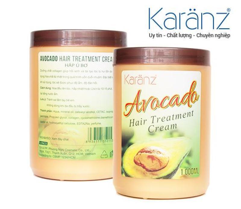 Hấp ủ Avocado Hương Bơ Karanz 1000ml nhập khẩu