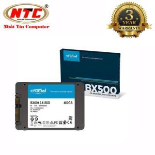 [Nhập ELJUN21 giảm 10% đơn từ 99K max 200K] Ổ cứng SSD gắn trong Crucial BX500 3D NAND SATA III 2.5 inch 480GB R540MB s W500GB s (Đen) - Nhất Tín Computer thumbnail