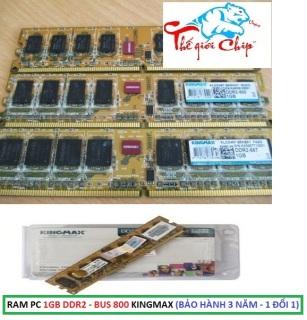 [HCM]RAM PC 1GB DDR2 -BUS 800 KINGMAX (BẢO HÀNH 3 NĂM - 1 ĐỔI 1) thumbnail