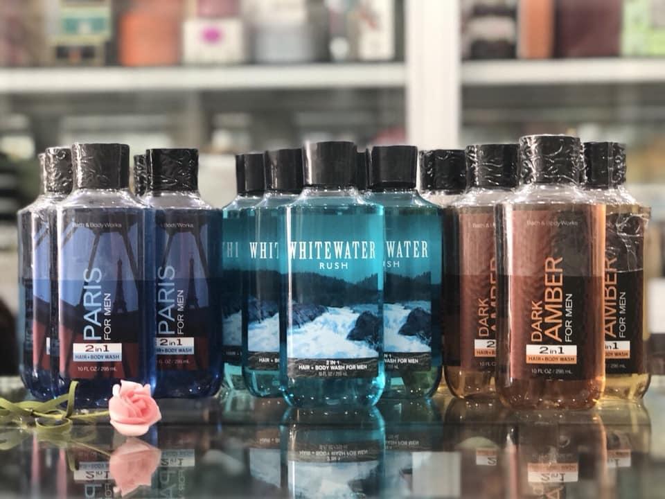 Gel tắm gội 2 trong1 dành cho nam Bath&BodyWorks nhập khẩu