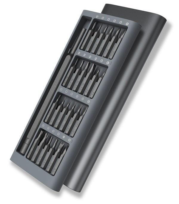Tua Vít 25 trong 1 đa năng Chính Xác vít có từ tính - Loại đắt (Đen), thiết bị sửa điện thoại cao cấp, dụng cụ sửa điện thoại cho dân chuyên nghiệp