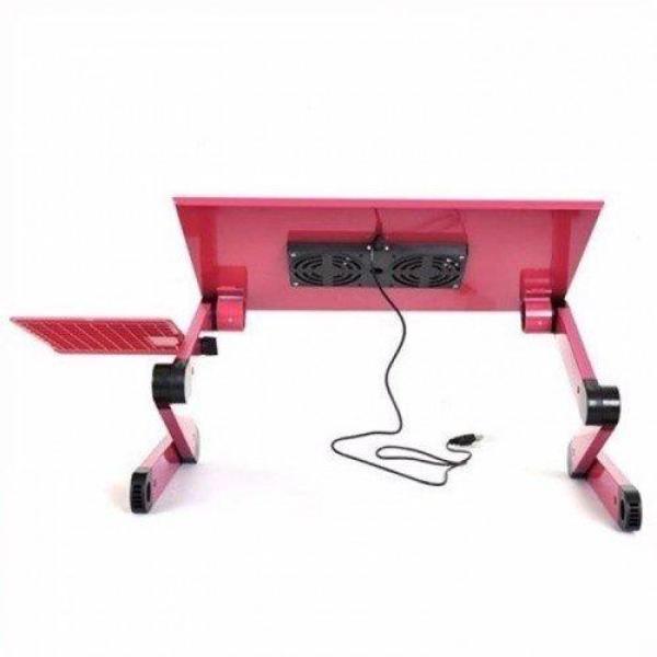Bảng giá [2 TẢN NHIỆT] Bàn kê laptop tùy chỉnh 360 độ T8 - Bàn để laptop đa năng cao cấp có quạt tản nhiệt, bàn laptop, bàn kê laptop trang bị 2 quạt tản nhiệt giúp Laptop hoạt động trong thời gian dài mà không sợ bị nóng Phong Vũ